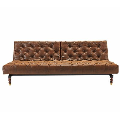 Innovation Living Inc. 94-741018461-3 Old School Chesterfield Sleeper Sofa Frame Finish