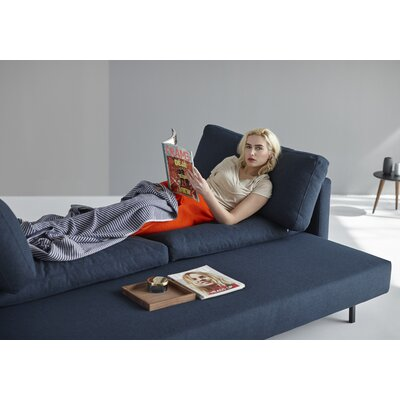 Disa Sleeper Sofa Upholstery: Mixed Dance Blue