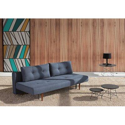 Home Recast Sleeper Sofa Upholstery: Nist Blue