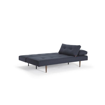 Home Recast Convertible Sofa Upholstery: Nist Blue