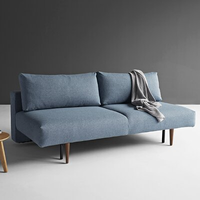 Sosebee Sleeper Sofa Upholstery: Mixed Dance Light Blue