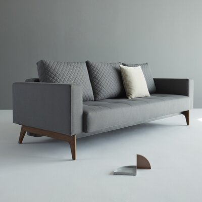 Cassius Sleeper Sofa Upholstery: Coastal Seal Gray
