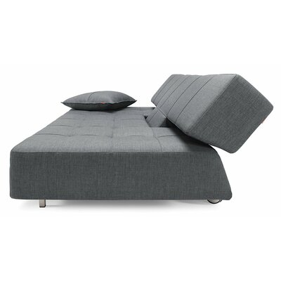 Long Horn Deluxe Excess Convertible Sofa Upholstery: Basic Dark Grey