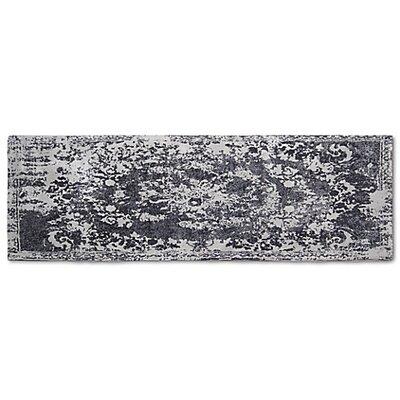 Hwan Artifaq Balad Gray Area Rug Rug Size: Runner 2 x 6