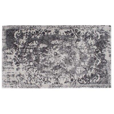 Hwan Artifaq Balad Gray Area Rug Rug Size: 375 x 225
