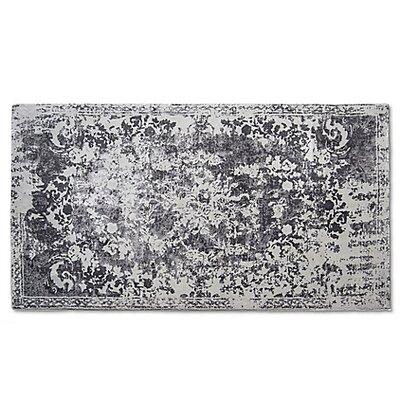Hwan Artifaq Balad Gray Area Rug Rug Size: 5 x 3
