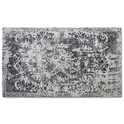 Hwan Artifaq Balad Gray Area Rug Rug Size: 6 x 4