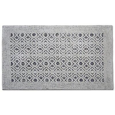 Kayson Artifaq Mauro Gray Area Rug Rug Size: 6 x 4
