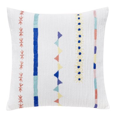 Indori Embroidery Throw Pillow