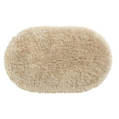 Ultimate Shag Bath Rug Color: Beige