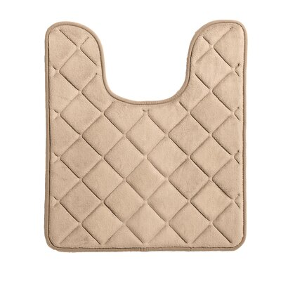 Diamonds Bath Rug Color: Khaki