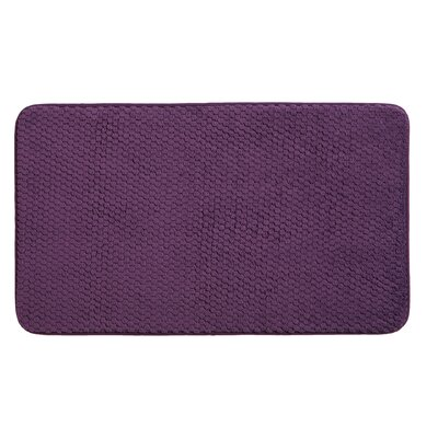 Rondo Bath Rug Color: Purple