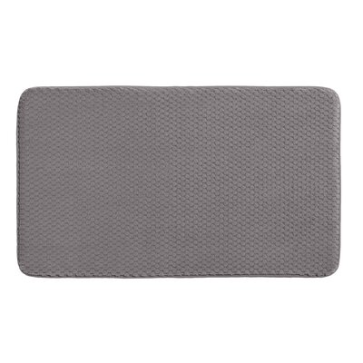 Rondo Bath Rug Color: Steel Gray