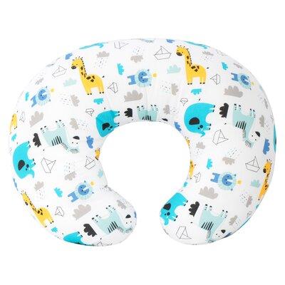 Noahs Ark Nursing Bed Rest Pillow Color: Blue