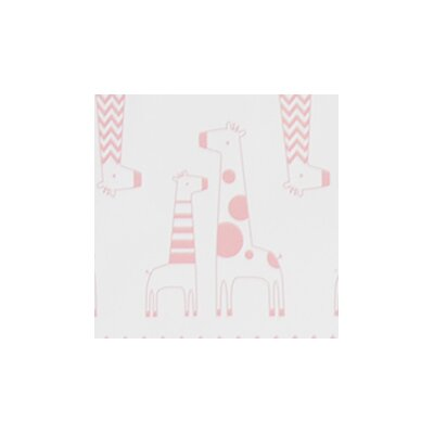 Giraffe Nursing Bed Rest Pillow Color: Pink