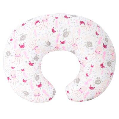 Sea Creature Nursing Bed Rest Pillow Color: Pink