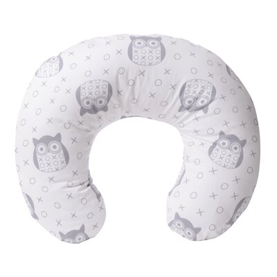 Yula Nursing Bed Rest Pillow Color: Gray