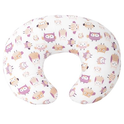 Owl Family Nursing Bed Rest Pillow Color: Pink