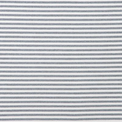 Perrine Stripe Navy Duvet Set Size: Full
