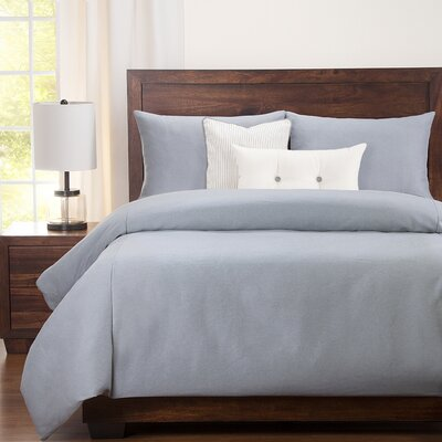 Perrine Fog Duvet Set Size: Twin