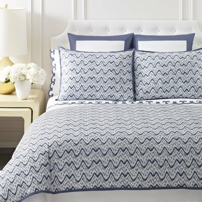 Wavy Ikat Duvet Cover Collection