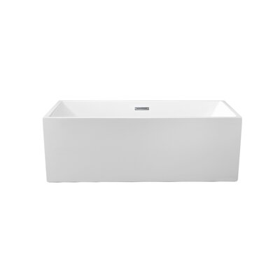 66 x 31.5 Freestanding Soaking Bathtub