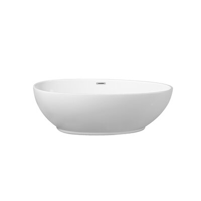 63 x 23.6 Freestanding Soaking Bathtub