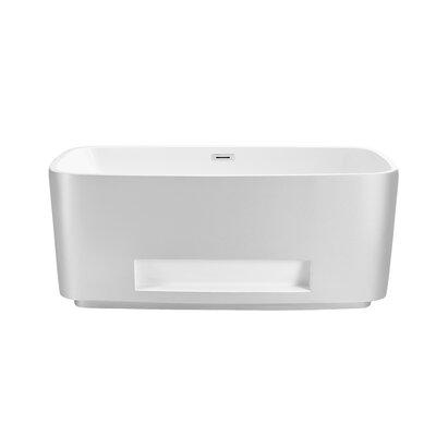 59 x 24 Freestanding Soaking Bathtub
