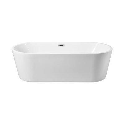 59 x 22 Freestanding Soaking Bathtub