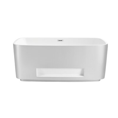 59 x 24 Freestanding Soaking Bathtub