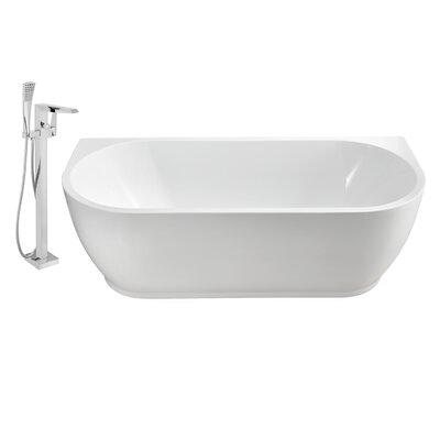 67 x 30 Alcove Soaking Bathtub