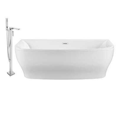 65 x 30 Alcove Soaking Bathtub