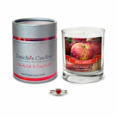 Apple Harvest Necklace Jewellery Scented Candle CC100101-2