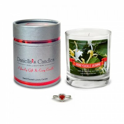 Honeysuckle Jasmine Necklace Jewellery Scented Candle CC100109-2