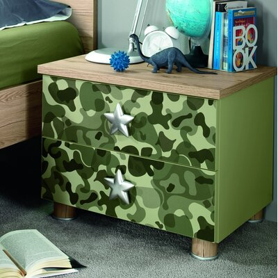 Deanne Kids 2 Drawer Nightstand