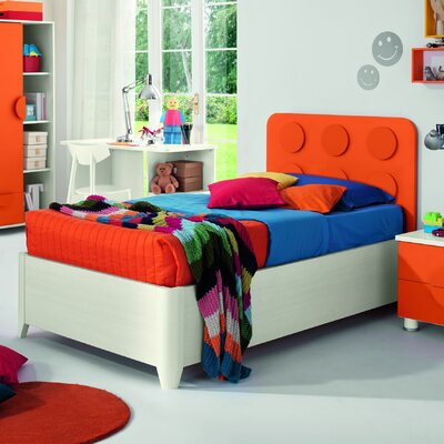 Dave Kids Panel Bed Size: Twin