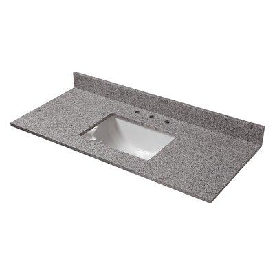 Granite 49 Single Bathroom Vanity Top Finish: Napoli