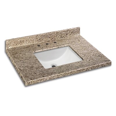 Granite 25 Single Bathroom Vanity Top