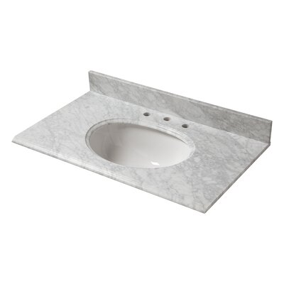 Marble 31 Single Bathroom Vanity Top