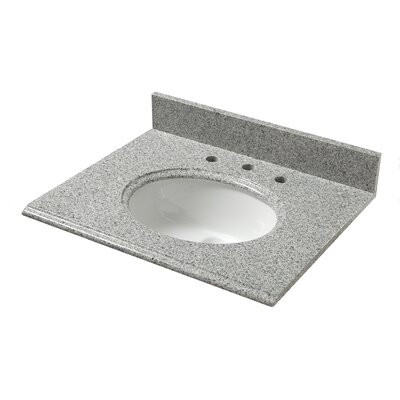 Granite 25 Single Bathroom Vanity Top