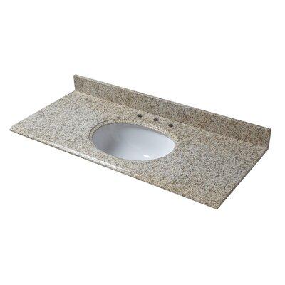 Granite 49 Single Bathroom Vanity Top