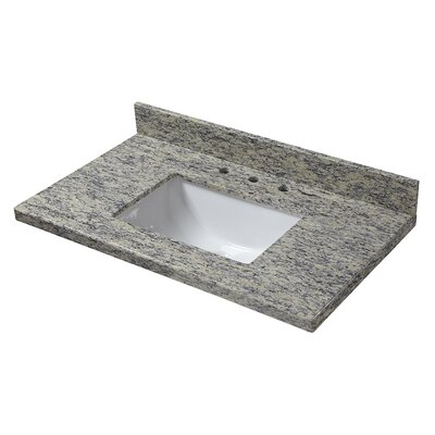 Granite 31 Single Bathroom Vanity Top