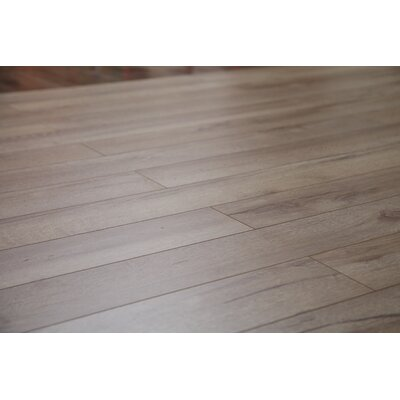 Country 47.85 x 4.96 x 12mm Laminate Flooring in Natural Oak