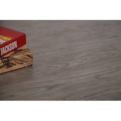 Coast 47.85 x 4.96 x 12mm Laminate Flooring in Gray Maple