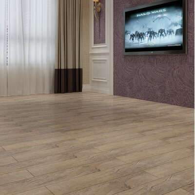 Coast 47.85 x 4.96 x 12mm Laminate Flooring in Washed Pine