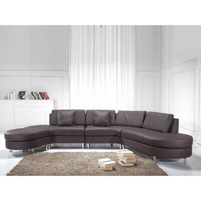 Modular Sectional Upholstery: Brown