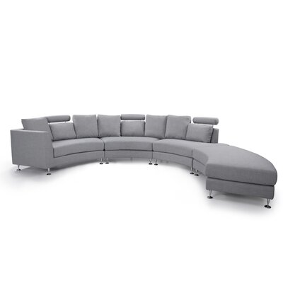 Modular Sectional Upholstery: Light Grey