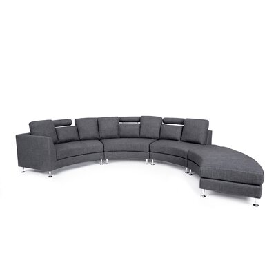 Modular Sectional Upholstery: Grey