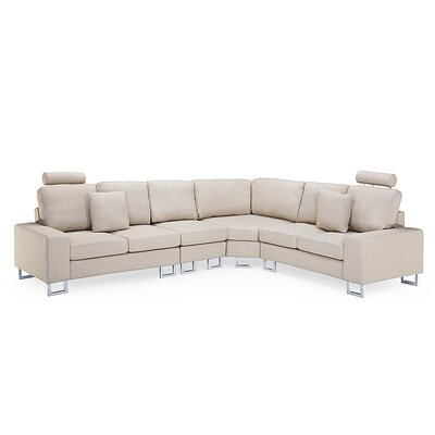 Modular Sectional Upholstery: Beige