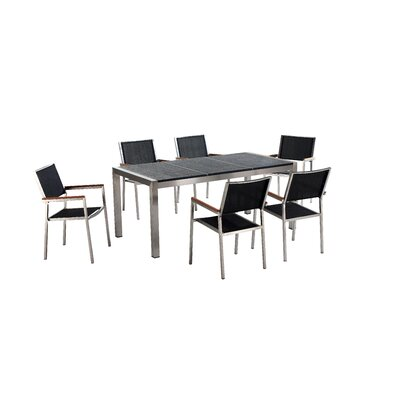 Gresso 7 Piece Dining Set